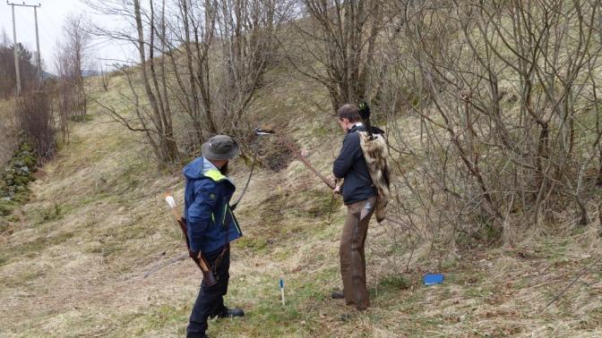 Bergen bueskytteres første 3D stevne
