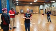 Natalie vinner av klasse barebow-5.